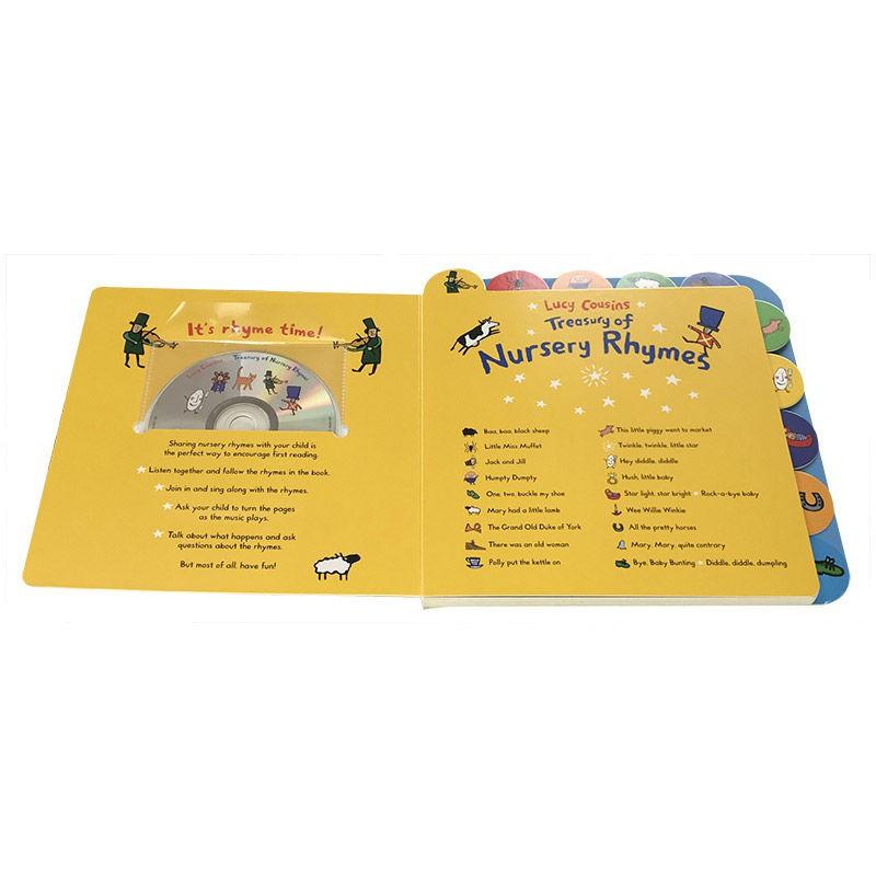 【台灣有貨】兒童童謠繪本 英文原版 Lucy Cousins Treasury of Nursery Rhyme