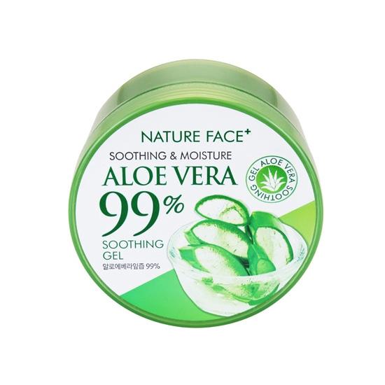 韓國 Nature Face+ 99%蘆薈保濕舒緩凝膠(300ml)【小三美日】D546024