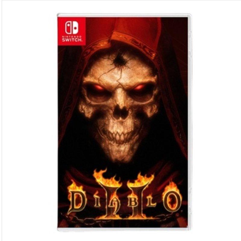 【暢銷】任天堂switch 遊戲NS 暗黑破壞神2獄火重生 暗黑2重置版 中文訂購 KiGE