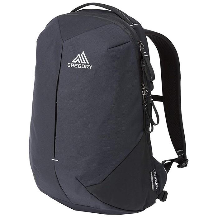 【Gregory 美國】SKETCH 22 UR 電腦背包 通勤後背包 黑/碳色 (109451-1052)