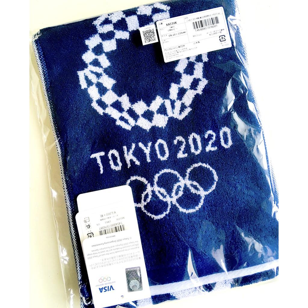 [2020東京奧運絕版商品]2020東京奧運X亞瑟士Asics冬奧logo運動毛巾