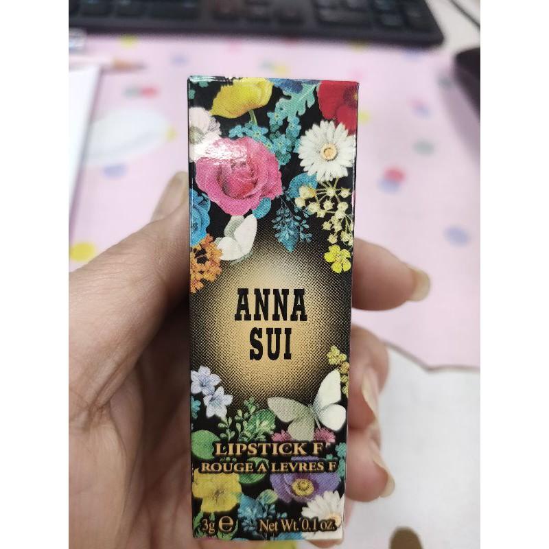 ANNA SUI F系列 華麗水潤薔薇唇膏口紅唇彩 3g 安娜蘇