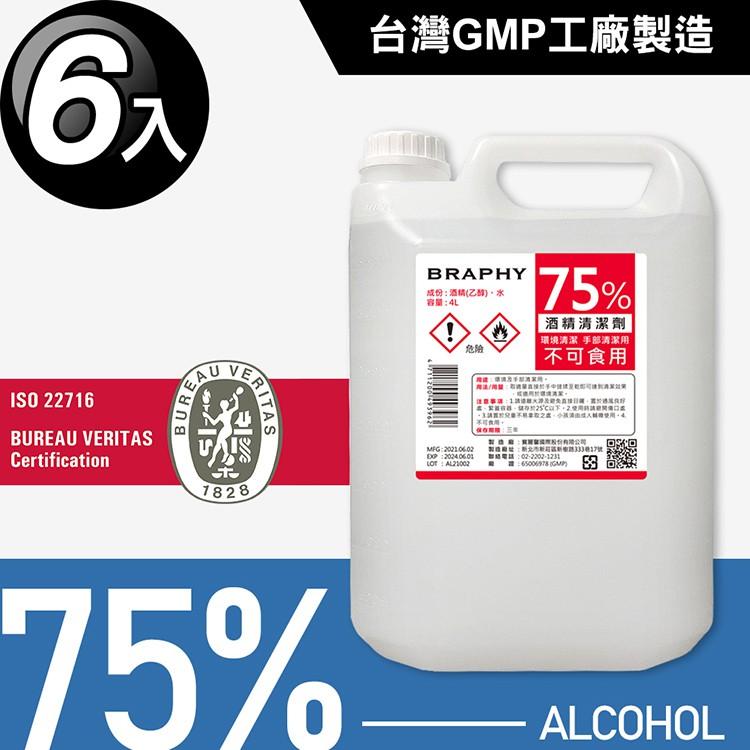 台灣製造 GMP工廠 75%酒精 清潔液 消毒 抗菌 消毒液 4公升 500ml 1公升 4L 1L 噴頭