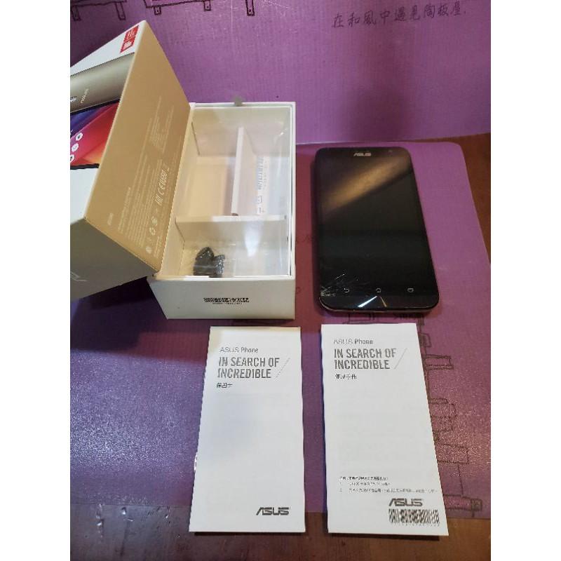 二手空機(螢幕有損)💜可開機 貴氣金 土豪金 香檳金 Zenfone 2 Laser 32G