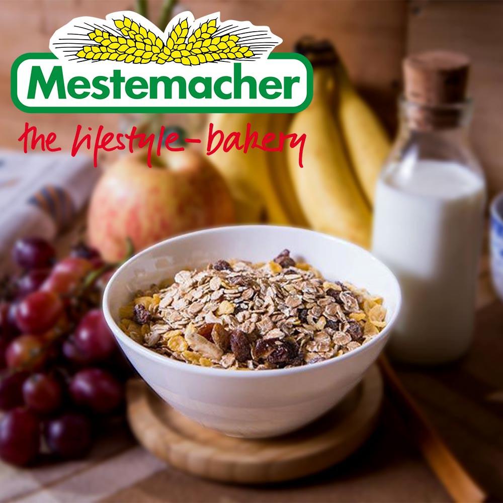 【Mestemacher】麥大師 德國天然什錦穀片1kg 原味/榛果/水果/向日葵口味(燕麥/麥片/沖泡/早餐/十翼饌