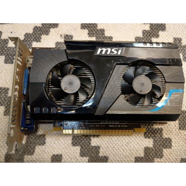 中古良品 顯示卡  MSI R6670 2G/D3