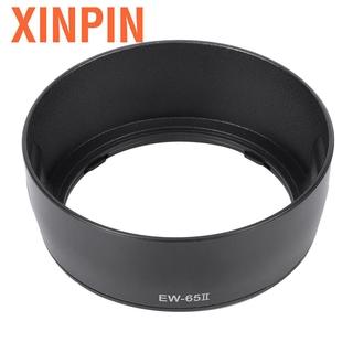 Xinpin 安裝鏡頭遮光罩 Ew ≤ 65i 避免了 Ef 28mm F2.8 35mm F2.0 相機的散光