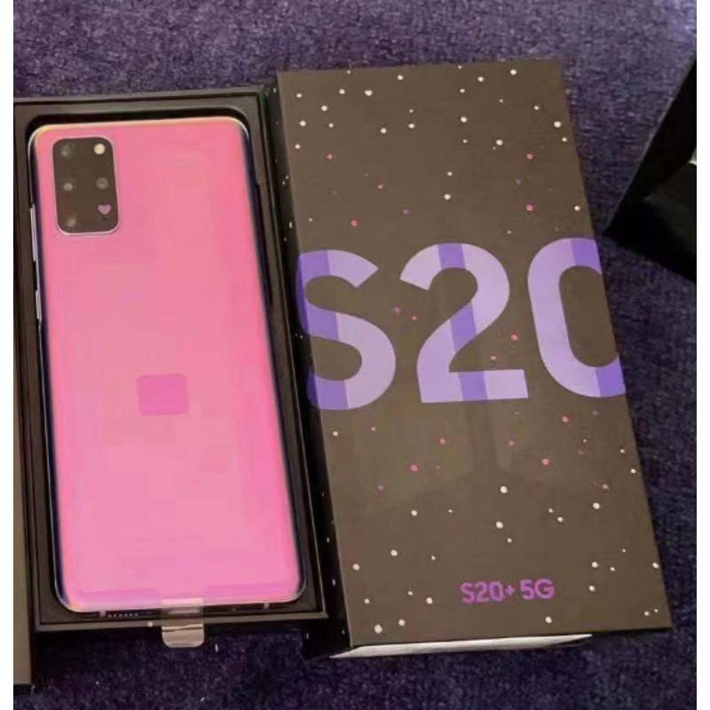 預購代購全新全套韓版三星samsung S20+ BTS限量版 紫色12+256