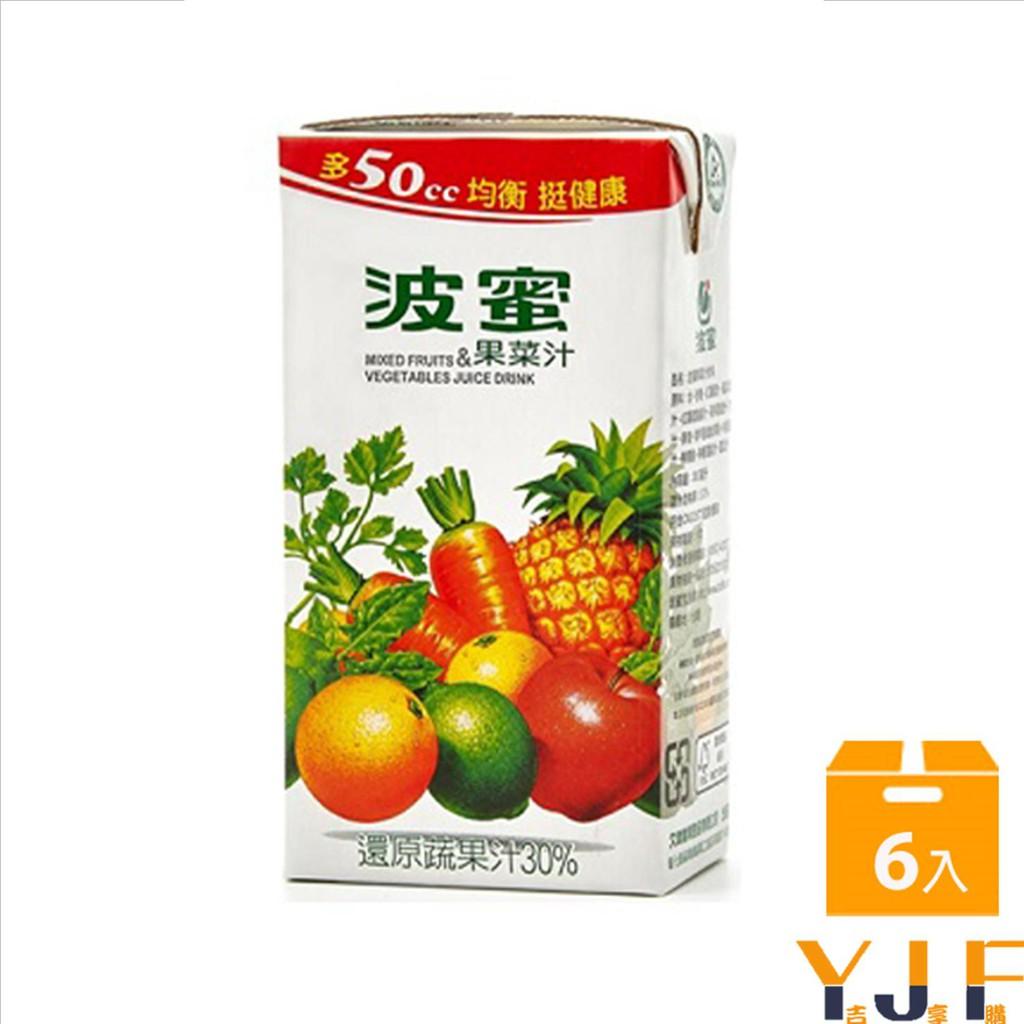 《波蜜》果菜汁300ml(6入)