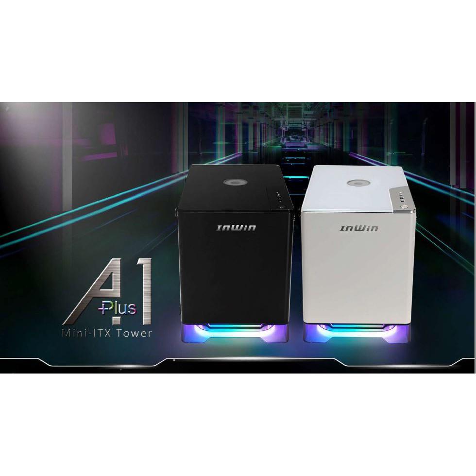 「先詢問再下單」迎廣 A1 Plus 黑/白 內附650W金牌電源 /A.RGB/QI無線充電/ITX 機殼