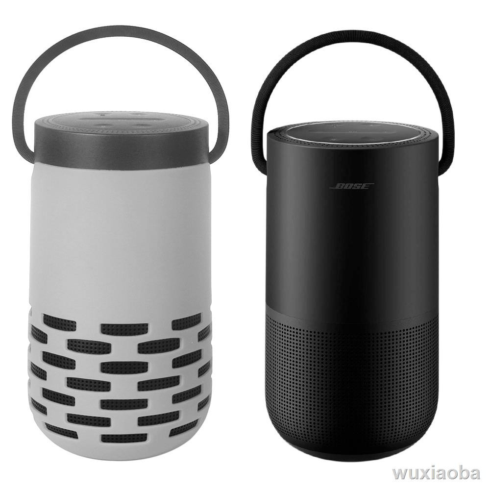 ۞新品 適用博士bose portable home speaker音箱包硅膠保護套音響收納盒