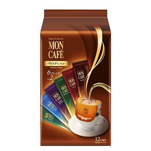 片岡物產 MON CAFE 濾掛咖啡 綜合12包