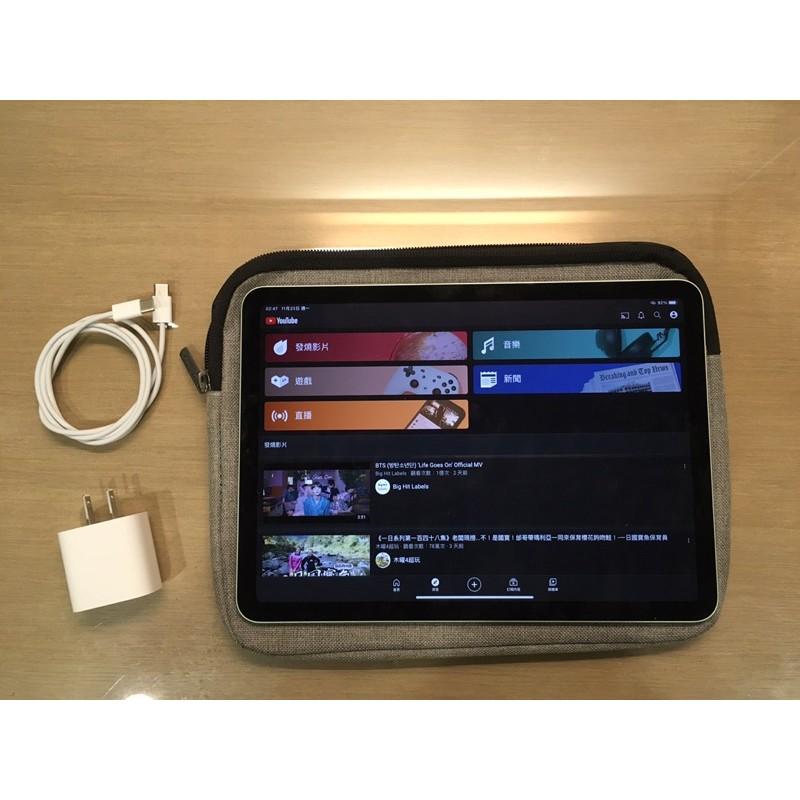 二手 iPad Air 4 A2316 64G 綠色 無盒