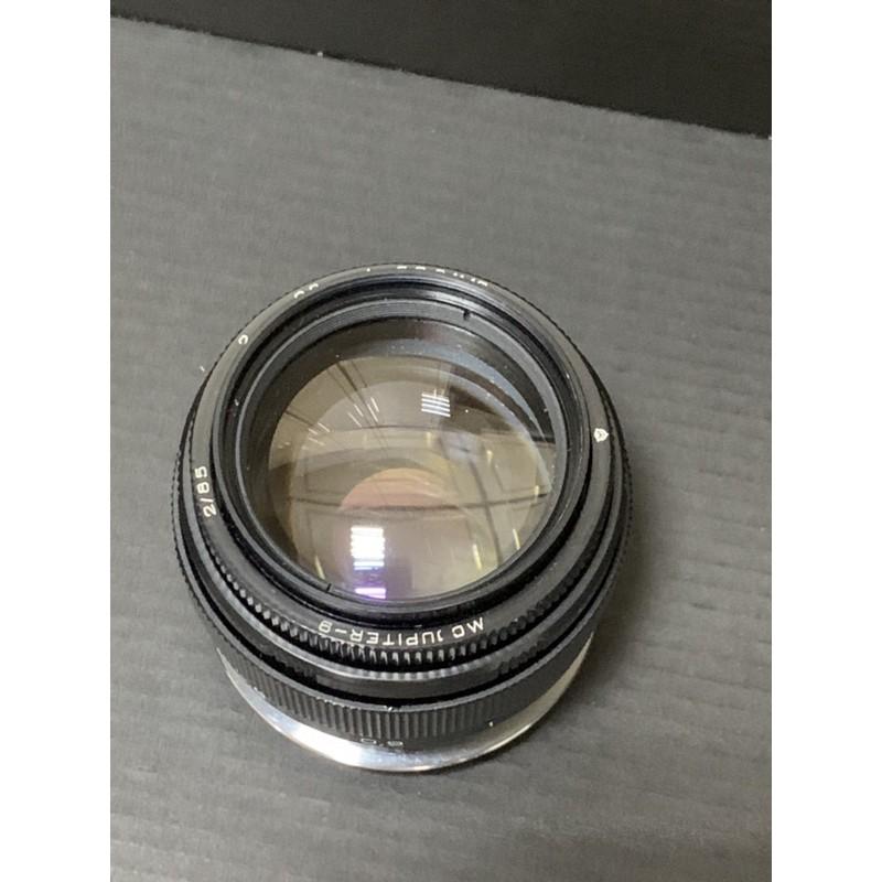 鑫揚運動百貨商城 「二手商品」Jupiter -9 85/2 老鏡 m42 已改 鏡頭 canon全福可上 我用過5d3