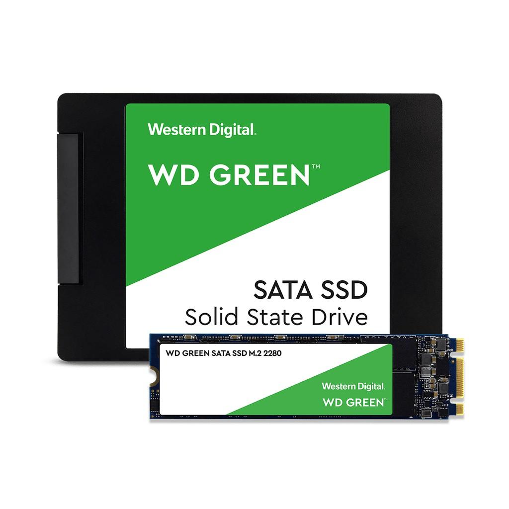 WD 綠標 固態硬碟 120G 240G 480G 2.5吋 M.2 SSD 全新公司貨 免運附發票