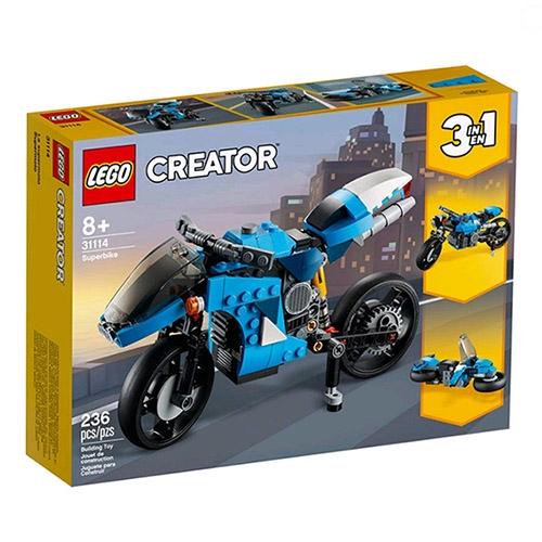 LEGO 樂高  LT31114 超級摩托車_三合一創意Creator 系列