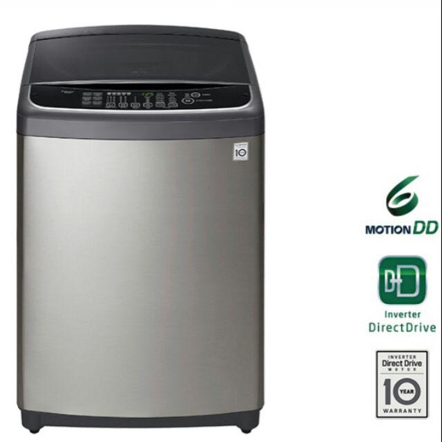 [東家電器] LG 6MOTION DD直立式變頻洗衣機 不鏽鋼銀 / 12公斤洗衣容量WT-SD126HVG