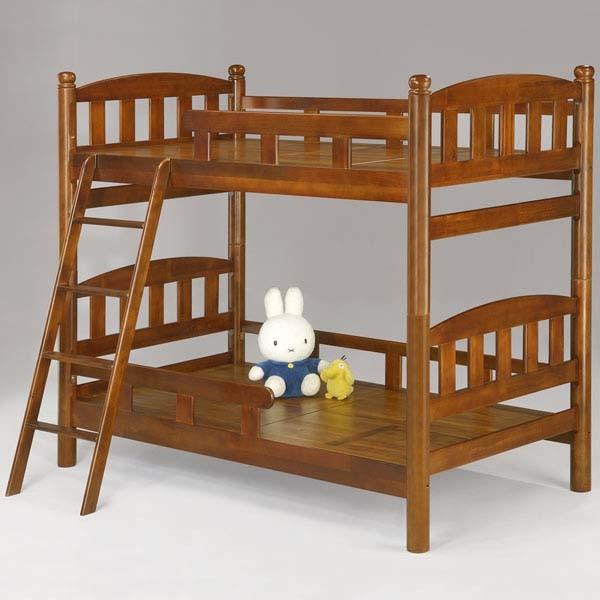 YoStyle 蕾妮3.5尺雙層床 上下舖 兒童床 實木床架 專人配送安裝
