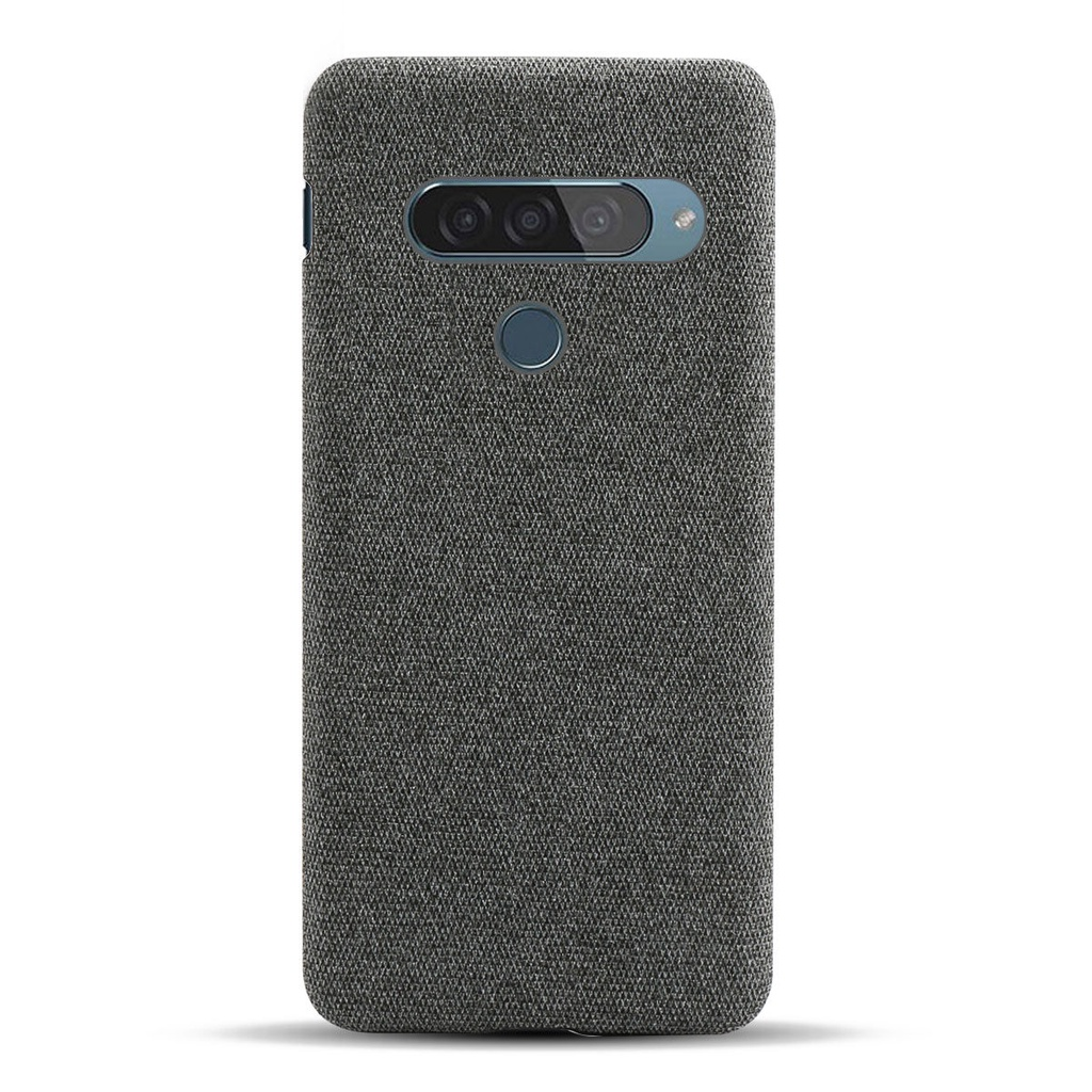 新品上架     LG G8S手機殼布面輕薄LG G8雙攝美版防摔保護套簡約手機套殼防汗