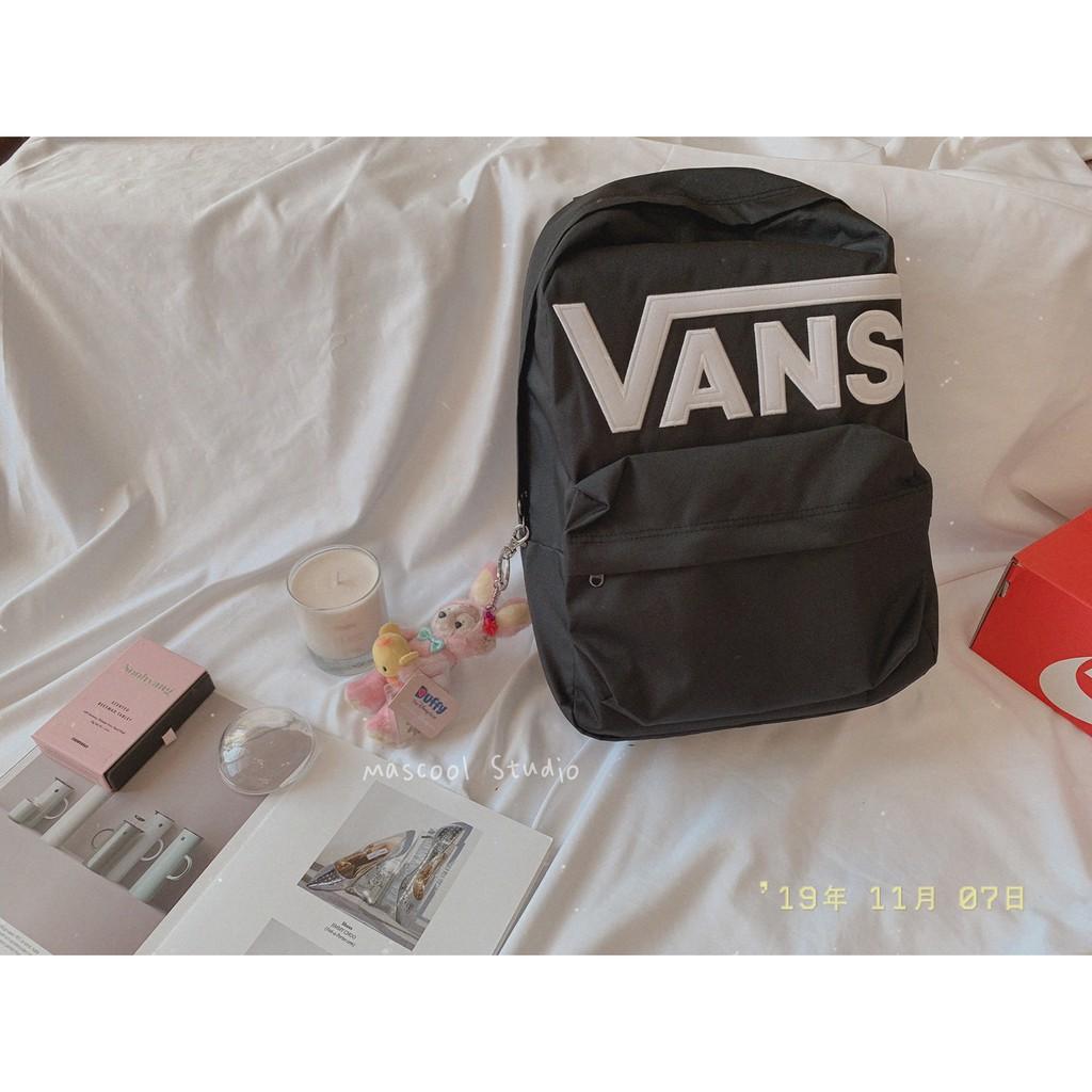 【MasCool】 Vans Old Skool  Backpack  後背包 黑