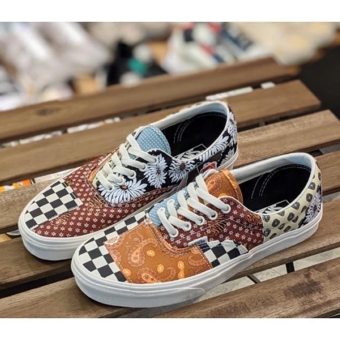 Vans Era Tiger Patchwork 虎紋拼接 尺寸詢問 韓國代購