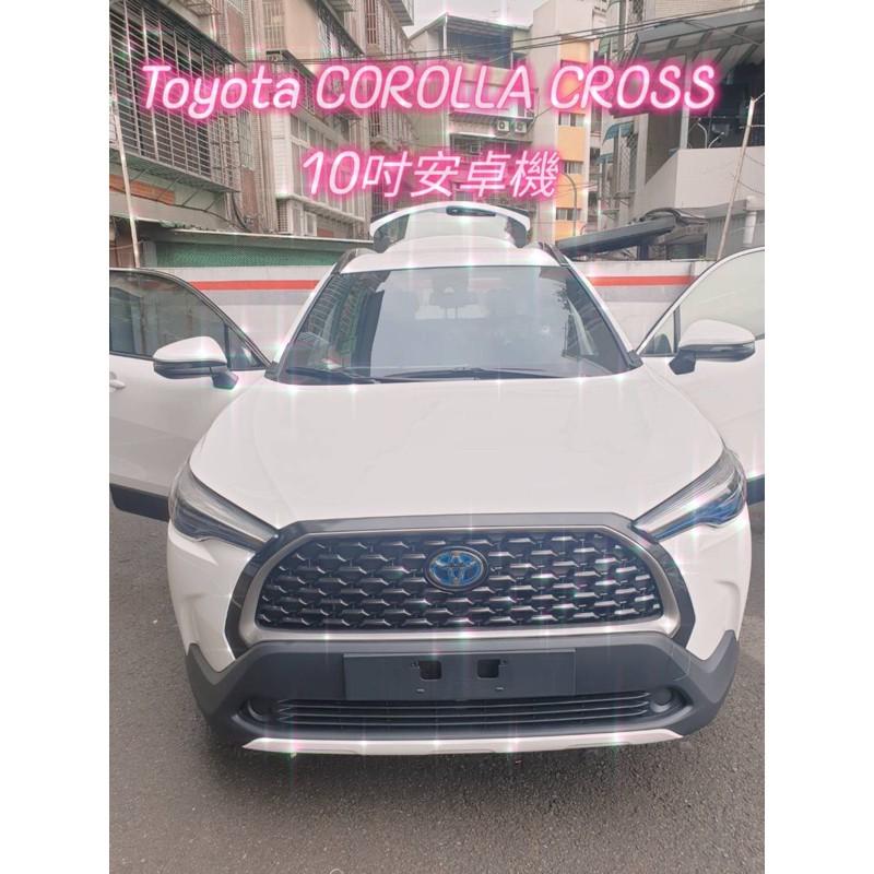 Toyota Corolla Cross CC GR專用安卓機聲控360環景含四路行車錄影 導航 電視 安卓系統 藍芽