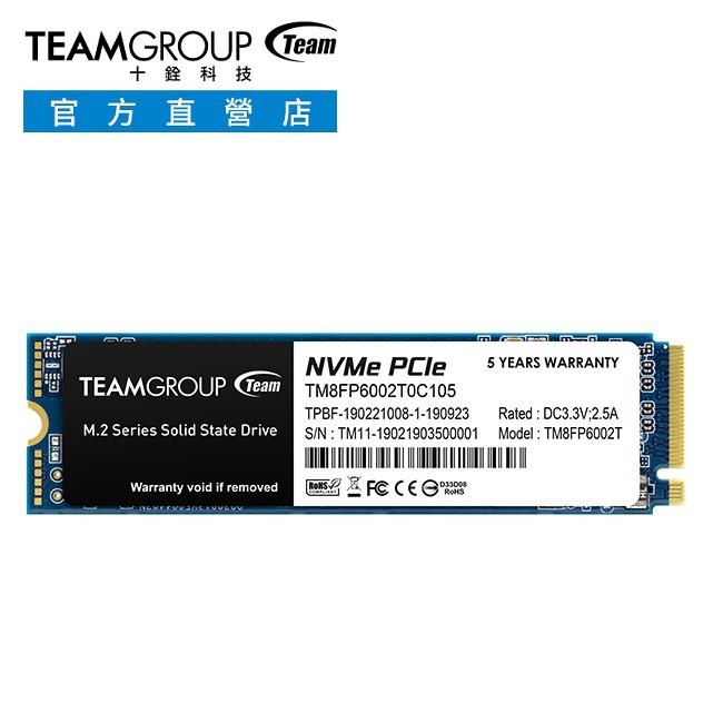 TEAM 十銓 MP33 M.2 PCIe 512G 1T SSD 固態硬碟