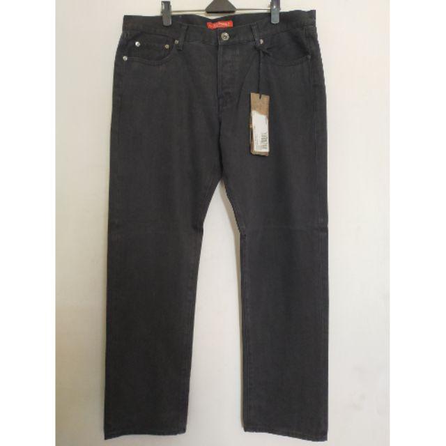 ED HARDY JEANS斜紋布直筒牛仔褲