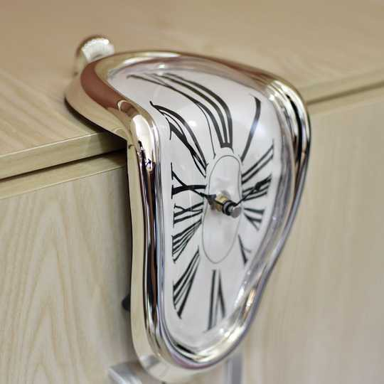 扭曲的時鐘 Melting Clock 【多納藝術商店 donnaartshop】