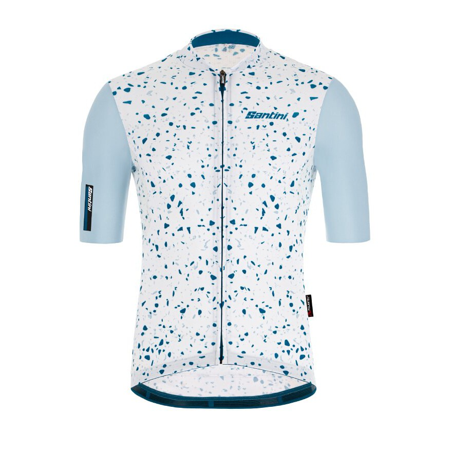 2021 Santini 【Delta晶岩】短袖車衣- 銀彈