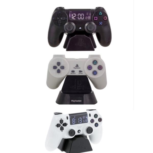 【超人代購】預購 美國 Playstation PS4 手把 造型 電子鬧鐘 小夜燈 NES時鐘趣味交換禮物裝飾遊戲機