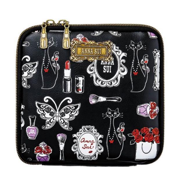 日雜附錄全新ANNA SUI(安娜蘇)化妝包 手拿包 萬用包