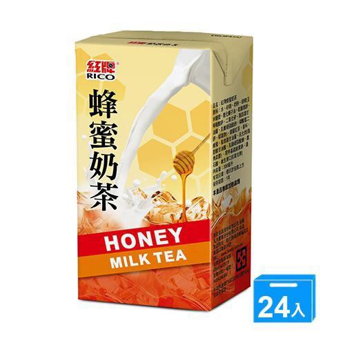 紅牌蜂蜜奶茶300ml x 24【愛買】