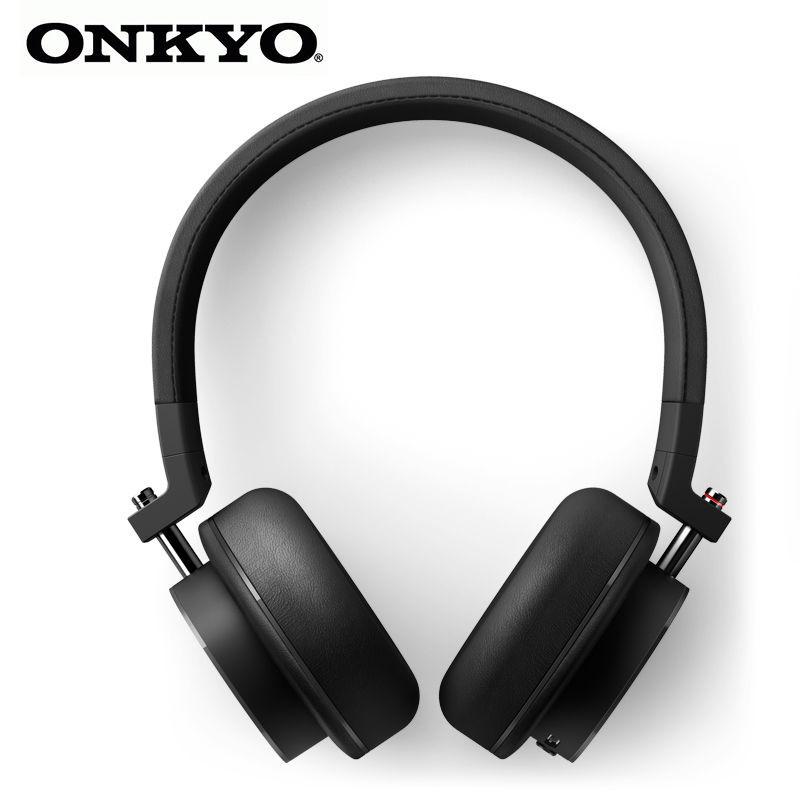 Onkyo/安橋 H500M頭戴式耳機發燒HIFI高解析耳機耳麥便攜手機音樂【3月28日發完】