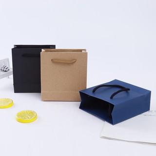 🌱首飾盒🌱 定制 簡約環保 牛皮紙珠寶首飾手提袋 節日禮品袋 服裝食品購物袋 臺北市