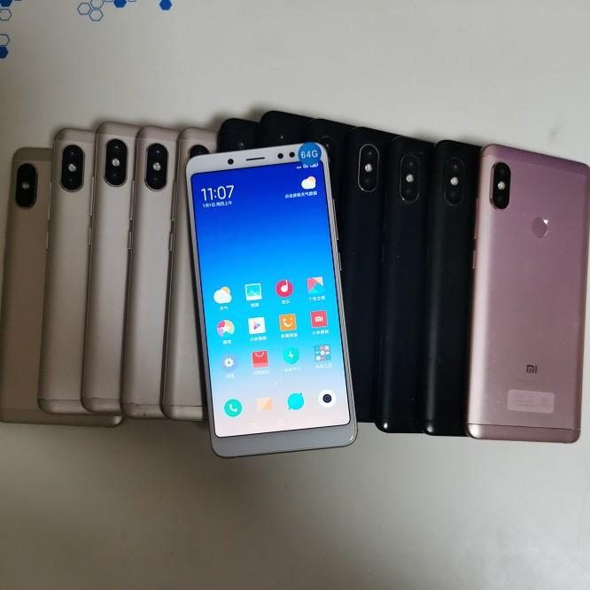 MI小米/紅米Note5 手機 國際版 4+64G 內建Google 二手福利機