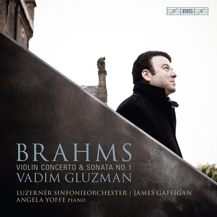 (BIS) 葛魯茲曼 布拉姆斯 小提琴協奏曲 第1號奏鳴曲 Gluzman Brahms SACD2172