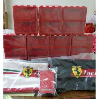 7-11 限量 法拉利展示盒 積木收藏盒 全世代模型車 台中市