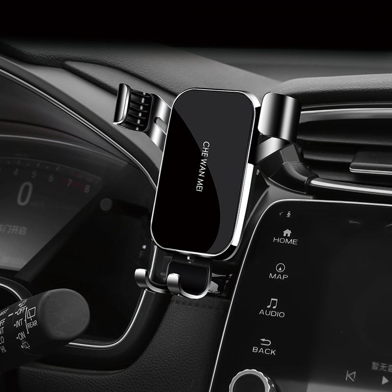 全網最低價#廠家直銷Honda  CRV 5/5.5代 卡扣式 手機支架  汽車配件 重力支架 導航 無線充電