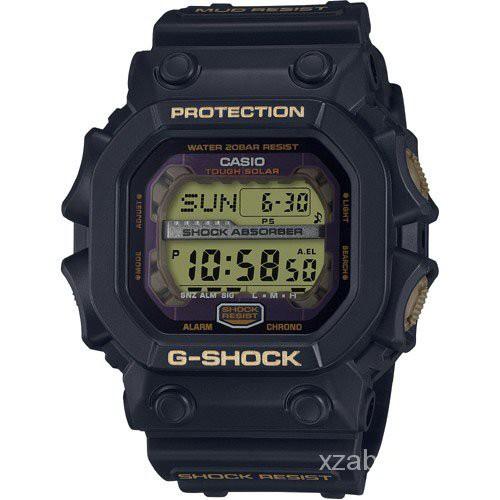 卡西歐G-SHOCK 七福神 大黑天 限量手錶光能巨G款GX-56SLG-1 kZpF