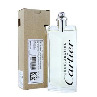 ☆MOMO小屋☆ Cartier Declaration 卡地亞宣言 男性淡香水 100ML TESTER 環保盒 臺北市