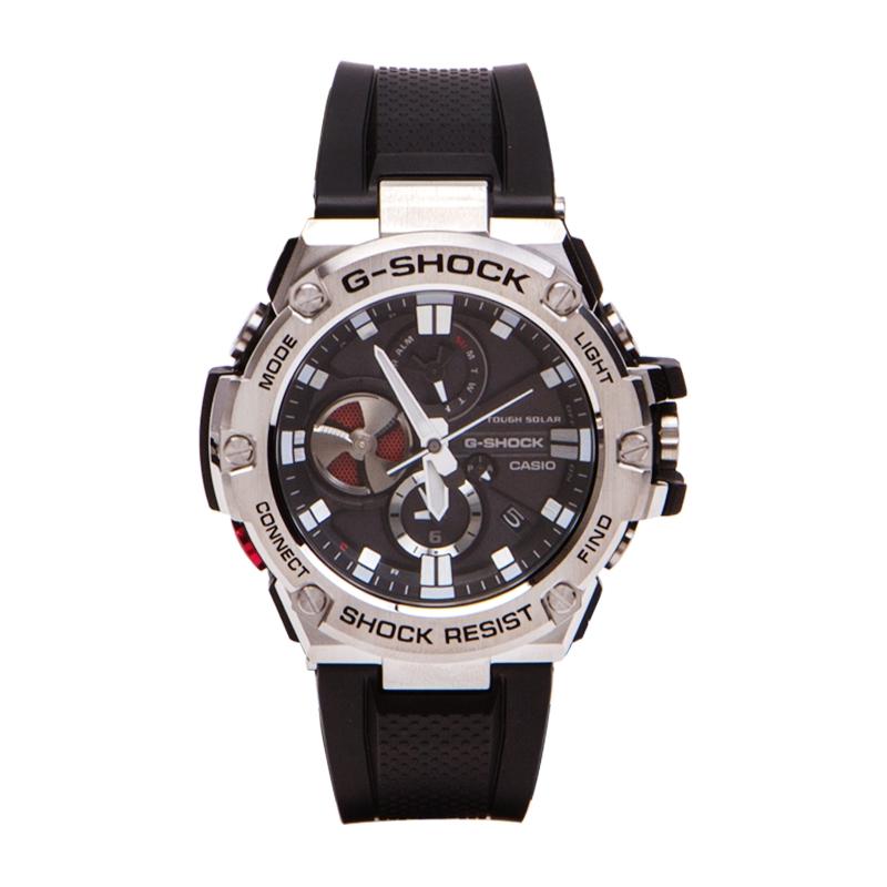 卡西歐G-STEEL GST-B100-1A  B100D-1 光動能手錶男 GG-B100