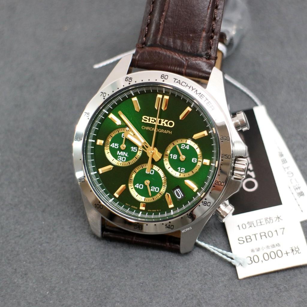 SEIKO SBTR017 手錶 41mm 日本限定 三眼計時 Daytona替代方案 男錶女錶