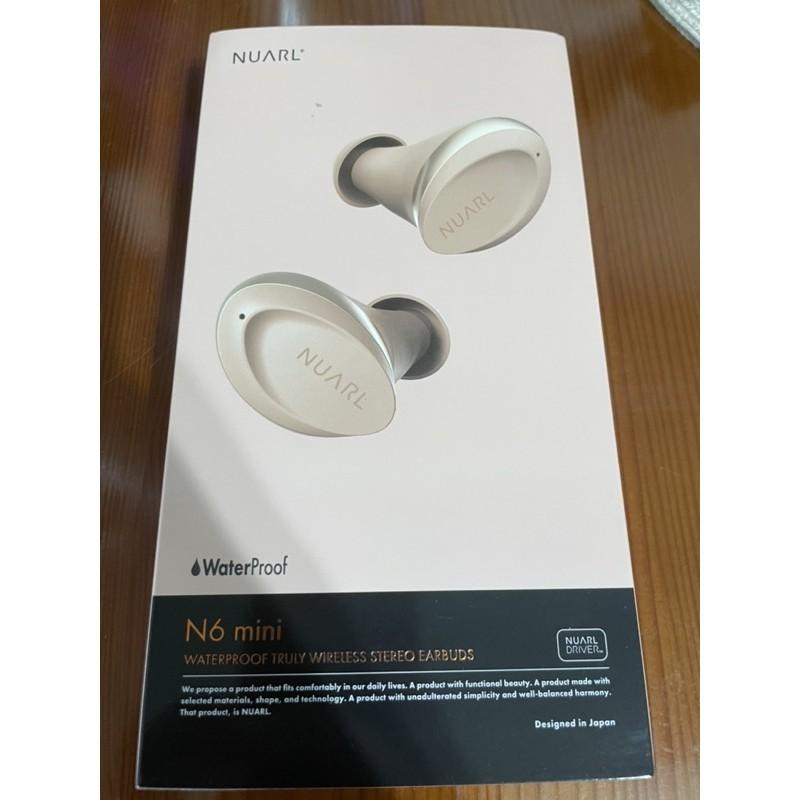 二手 極新 原廠公司貨 Nuarl N6 mini 極度輕巧小耳真無線藍牙耳機金縷