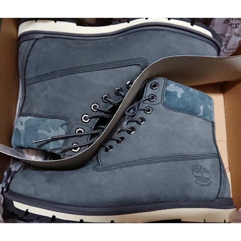 Timberland RadFord 6吋 深灰色防水靴 NUBUCK