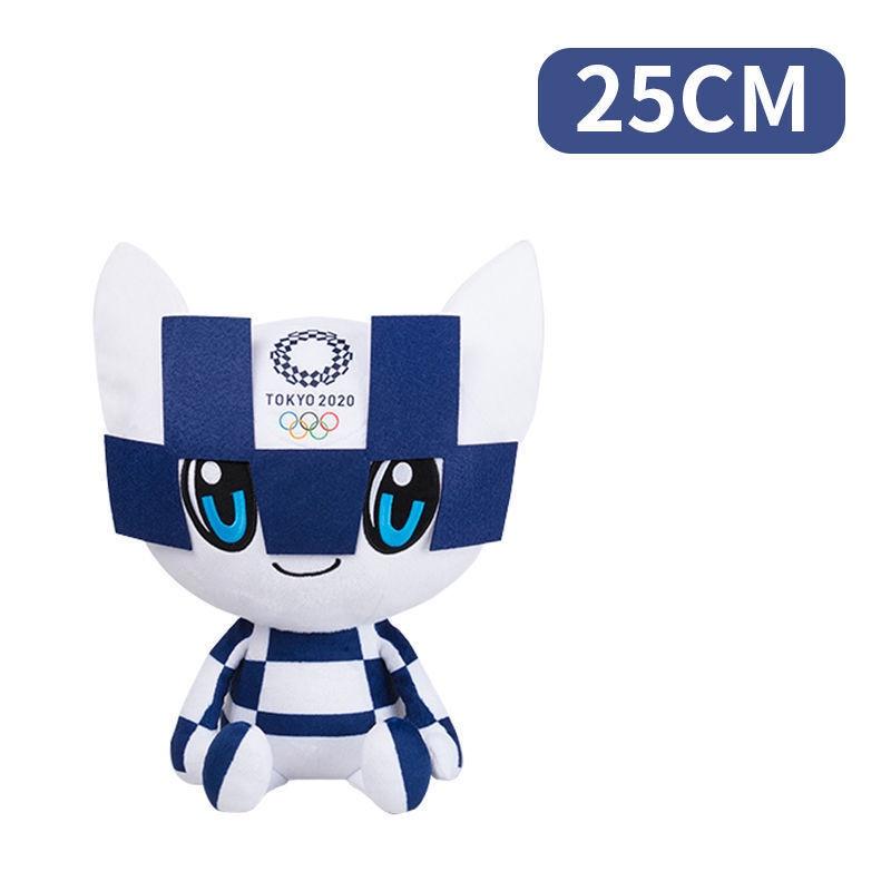 《東京奧運紀念物》東京奧運會吉祥物2021東京奧運會紀念品吉祥物毛絨公仔玩具日本禮