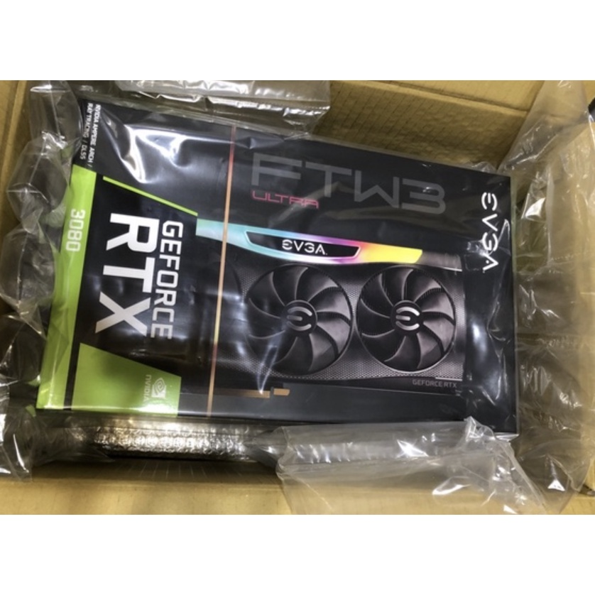 EVGA GeForce RTX 3080 FTW3 ULTRA GAMING, 10G-P5-3897-KL