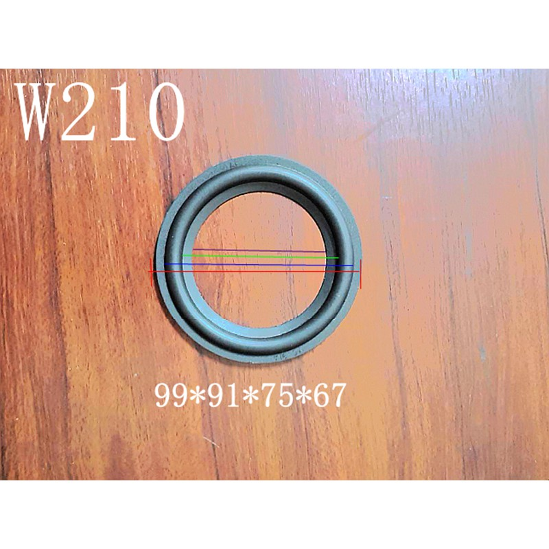 4吋橡膠懸邊 ❤ YC91A 進口橡膠懸邊 ~ W210汽車喇叭~ 喇叭材料 喇叭工廠👍👍👍