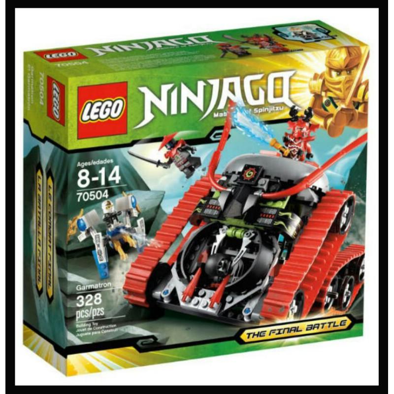 LEGO 樂高 70504 NINJAGO 旋風忍者 伽瑪當戰車
