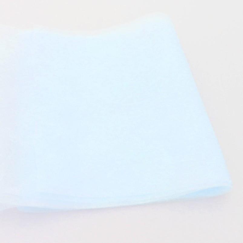 防潑水藍色熔噴不織布/防潑水藍色熔噴不織布+白色靜電不織布組合包 (白色有髒污 可接受再下單)